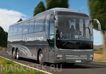 Поездка на автобусе по Ленинградской области